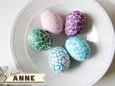 Mosaic Eggs  - CountryLiving.com