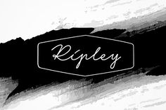 Ripley - 3 fonts by Leitmotif on @creativemarket