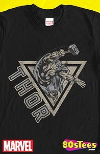 24db97ad Flying Thor Geeks: This men's style t-shirt features has excellent art,  design