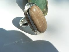 Giant Sequoia and Sterling Silver Ring.  by GlacierJewellery Another beautifully made ring created by Pete Hanlon.
