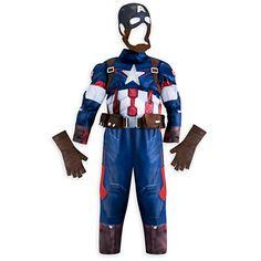 Captain America Costume for Boys - Marvel's Avengers: Age of Ultron
