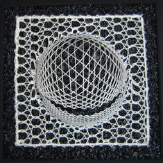 Terug naar 't kantkussen. Textile World, Bobbin Lacemaking, Textiles, Lace Heart, Lace Jewelry, Needle Lace, Lace Making, Irish Crochet, String Art