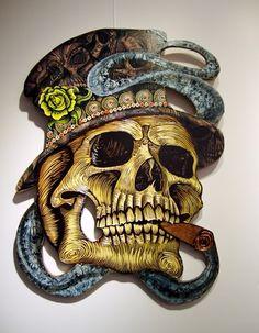 I Need Your Skull Art Show