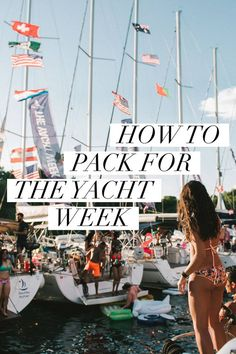 What you need to bring to The Yacht Week