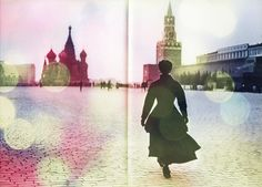 Photo by Peter Lindbergh #Moscow #colours #DTFS #art #Kremlin #Russia  Red Square