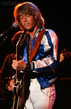 Andy Gibb...died too young.  Talented younger Bee Gee brother.
