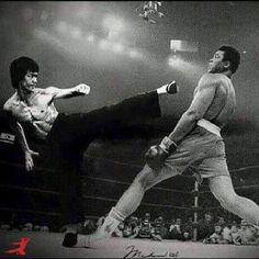 Bruce and Ali