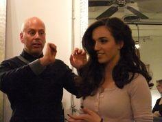 Oribe's Steven Schmidt Teaching at Buzz Salon