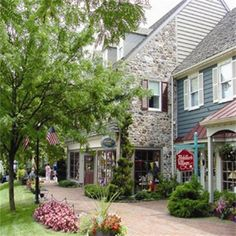 Peddler's Village Historic Buck's County Pennsylvania