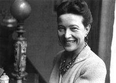 Happy birthday Simone de Beauvoir (b1908 d1986) - her seductive intellect embraced the glamour & the rigour of ideas