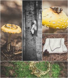 Awesome way to photograph bridal accessories! | A WedAZ Real Wedding