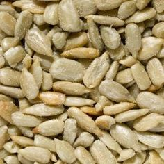 Roasted sunflower seeds make a delicious snack.