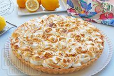 Receta de Lemon Pie o tarta de limón, compuesta de una base de masa quebrada crujiente, crema pastelera de limón y merengue tostado. Lemon Pie Receta, Chess Cake, Empanadas, Meringue, Apple Pie, Base, Cupcakes, Homemade, Cookies