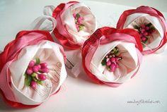 Fabric flowers tutorial