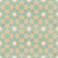 - cement tiles CE01 03.10.08 - Couleurs & Matières -powder room walls