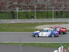 2005 WTCC- BMW M3 driven by Garcia and Alfa 156 gta driven by Giovanardi