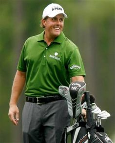 43cb40e539 Do you like Phil Mickelson better in a cap or visor  Love that guy no