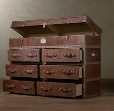 This would make an awesome dresser.
