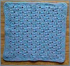 Lacy Crochet Dishcloth