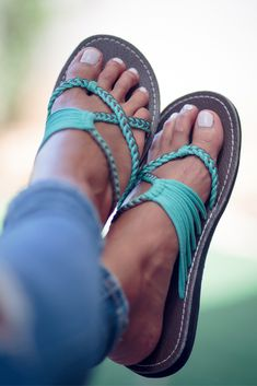 68a4971ff6a50a Minimal chic and comfortable sandals (flip flop-like) in turquoise color  that are