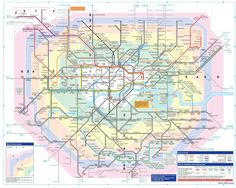 38 Awesome london zone map images