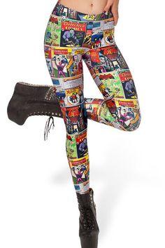 Batman Comic Leggings