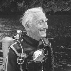 Jacques Cousteau invented the aqualung and pioneered underwater filming and to a large extent, underwater archaeology itself.