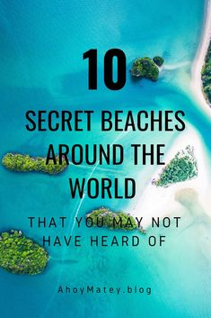 There are plenty of beautiful beaches to be found across the globe. But what about those beaches with a little less press? Let's explore some of those spots travellers might not have previously heard of. From all corners of the globe, here are ten strips Destin Beach, Beach Trip, Beach Travel, Maui Vacation, Travel Advice, Travel Tips, Work Travel, Travel Essentials, Travel Guides