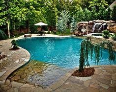 Home Decor Mediterranean Pool. プールのインテリアコーディネイト実例