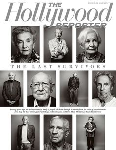 Hollywood's Last 11 Survivors of the Holocaust, portfolio by Wesley Mann | THR's Dec. 25, 2015-Jan. 8, 2016