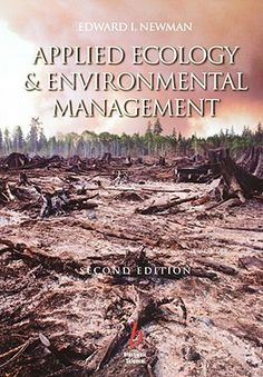 Applied ecology and environmental management de Edward I. Newman.  L/Bc 574-NEW-app. http://157.88.20.47/search~S1*spi/?searchtype=t&searcharg=applied+ecology&searchscope=1&SORT=D&extended=0&SUBMIT=Buscar&searchlimits=&searchorigarg=tla+capa+de+ozono