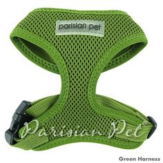 Parisian Pet Freedom Dog Harness, Large, Green * Continue to the product at the image link. (This is an affiliate link and I receive a commission for the sales)