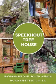 Magical tree house in the Baviaanskloof - Roxanne Reid All About Africa, Magical Tree, Wildlife Safari, Slow Travel, Kruger National Park, Outdoor Furniture Sets, Outdoor Decor, Africa Travel, Windmill