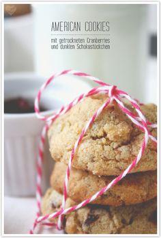 Cranberry Schokoladen-Cookies