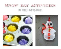 I know lot of places are gearing up for spring. But it snowed hard where I live. So we have a super fun snow play post.When it snows its hard to resist not going out. Our typical snow day activitie...