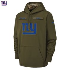 463bda328 NEW Nike 2018 NFL Salute to Service New York Giants Therma PO Hoodie  Limited NWT Salute