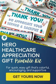 This Hero Healthcare Appreciation Gift set is an easy, inexpensive, and fun way to say thank you to all our healthcare workers: doctors, nurses, lab workers, secretaries...everyone! Get it now. #AppreciationGift #GiftIdeas #GiftPrintables #LDSprintables #healthcare #hero #ministeringprintables Lds Seminary, Relief Society Lessons, Lds Blogs, Enrichment Activities, Visiting Teaching, Easy Gifts, Teacher Appreciation, Young Women, Teacher Gifts