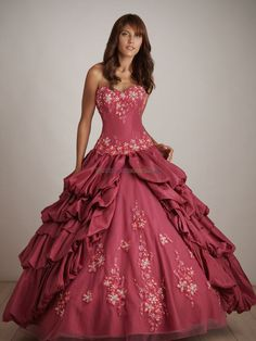 Beautiful Ball Gowns | 2011 Quinceanera Dresses,Beautiful ball gown sweetheart-neck floor ...