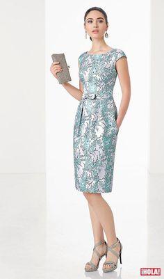 Vestidos de cóctel y boda de tarde: ¿qué me pongo? Simple Dresses, Beautiful Dresses, Nice Dresses, Short Dresses, Dresses For Work, Formal Dresses, Mom Dress, Dress Skirt, Office Outfits