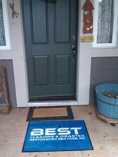 When you see this at your doorstep: Prepare for clean carpets and a smiling technician to welcome you home!