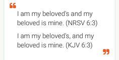 Song of Solomon 6:3
