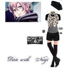"""Date with Nagi"" by itzelperaltadelacruz on Polyvore"