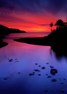 Sunrise - Nova Scotia, A gorgeous place to be; to wake up in Nova Scotia to a beautiful sunrise.  Saw many and I miss it.