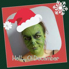 Furgająca Heksa: Sezon zimowy!!! Winter makeup. Zimowy makijaż