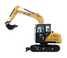 SANY excavator for sale feature high efficiency, low consumption, and star service. Make an inquiry right now for the tonne diggers 3 price. Small Excavator, Excavator For Sale, Road Construction, Heavy Machinery, Crane, Outdoor Power Equipment, Concrete, Engineering, Garden Tools