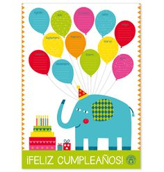 Panel Cumpleaños Color -> http://www.masterwise.cl/productos/43-sala-de-clases/1861-panel-cumpleanos-color