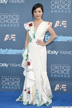 Constance Wu at the 22nd Annual Critics' Choice Awards