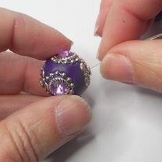 String the beads on the beading elastic