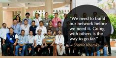 Shamit Khemka believes in having fun at work. Has many adventurous trips with whole team. bit.ly/1L4YHe2