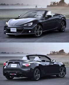 Pocket : What The Diesel Hybrid Convertible Subaru BRZ Would Look Like If It Wasnt A Joke
